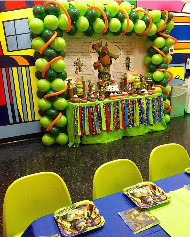 "46 Likes, 3 Comments - Cool Corner Family Bistro (@coolcornerbistro) on Instagram: ""Teenage Mutant Ninja Turtles birthday party !  #CoolCornerBistro  #gulfstream #gulfstreampark…"""
