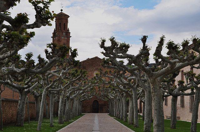 Monastère royal de Santa María de Veruela, Vera de Moncayo, province de Saragosse, Aragon, Espagne. #Veruela #Aragon #monastery