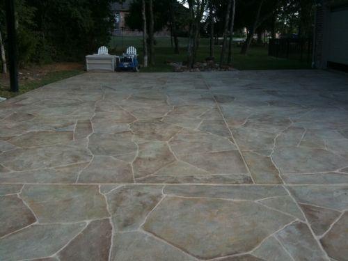 65 best patio concrete & sidewalk ideas images on pinterest ... - Concrete Patio Resurfacing Ideas