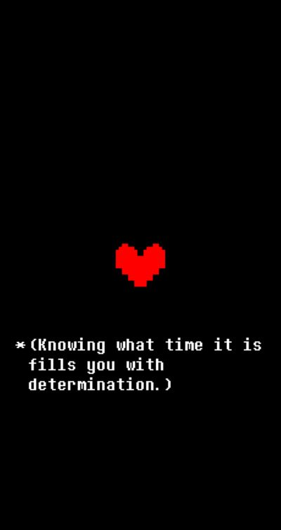 Undertale Determination IPhone Wallpaper by sugoisenpai42