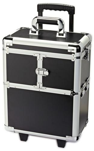 Cosmetology Kit Case on Wheels.