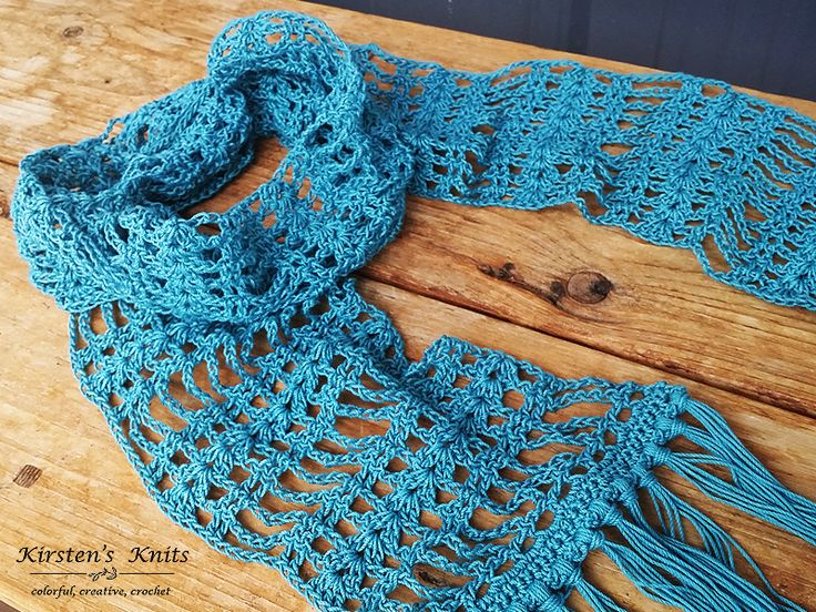 822 best Crocheted scarves images on Pinterest | Crochet cowls ...