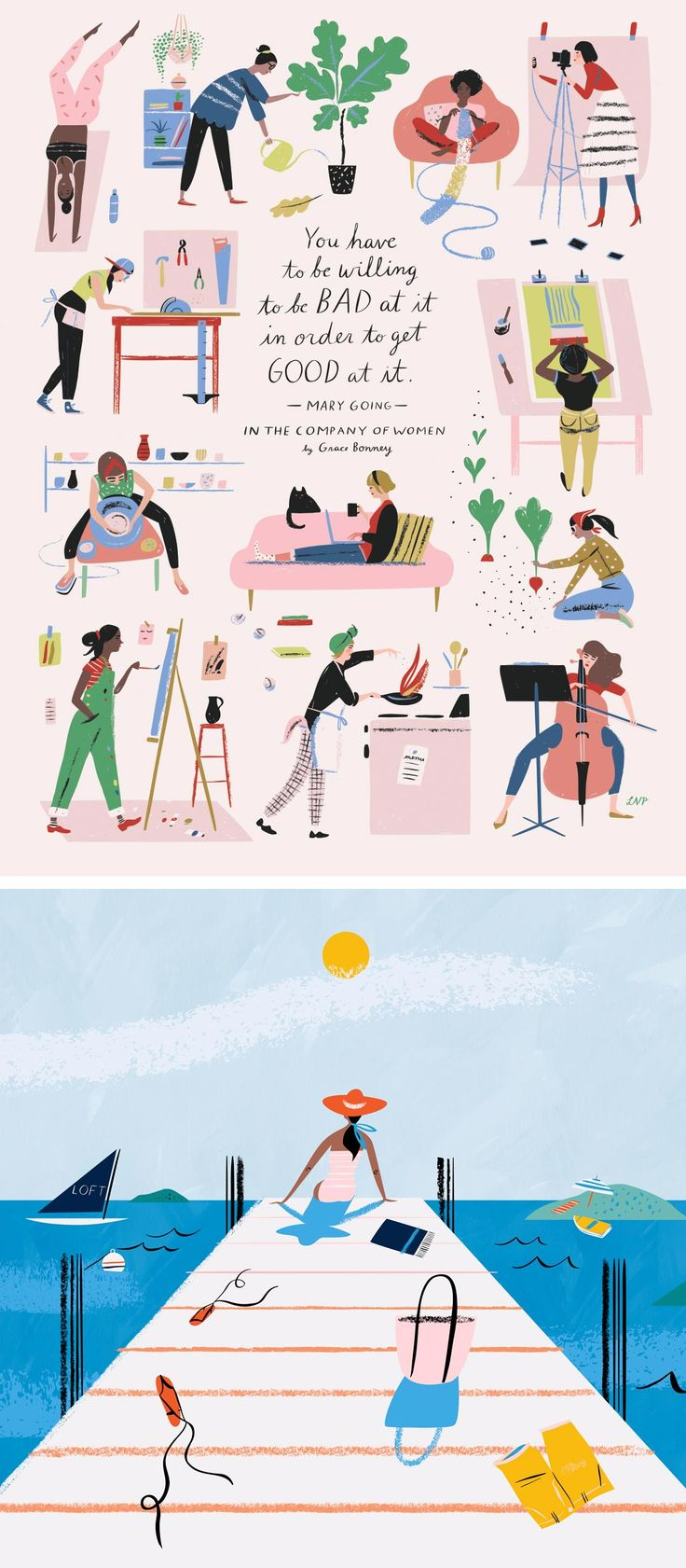 Libby VanderPloeg's Love of Cooking Leads to Animated GIF Illustrations