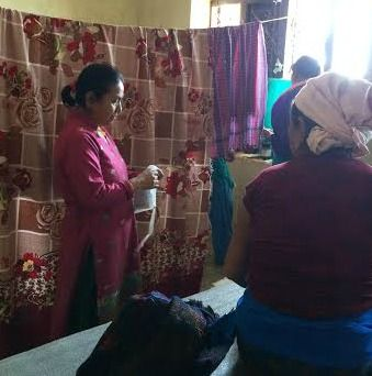 In Nepal, An Ayurvedic Practitioner Seeks Support