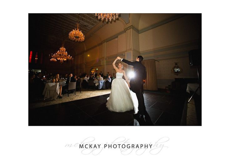 First dance at the Tea Room QVB - McKay Photography