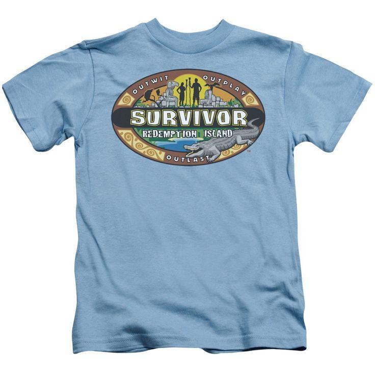 Survivor/Redemption Island Short Sleeve Juvenile T-Shirt in Carolina