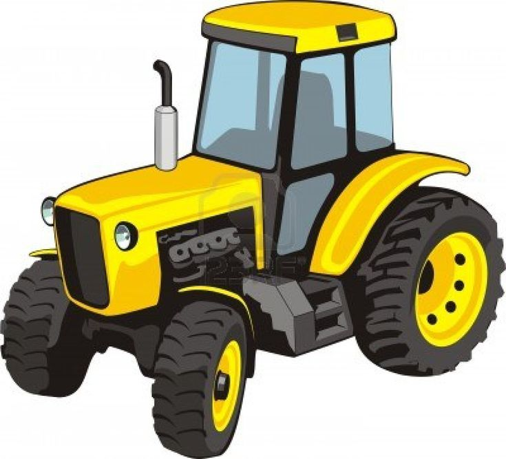 Yellow Tractor Clip Art : Best images about yellow tractors on pinterest image