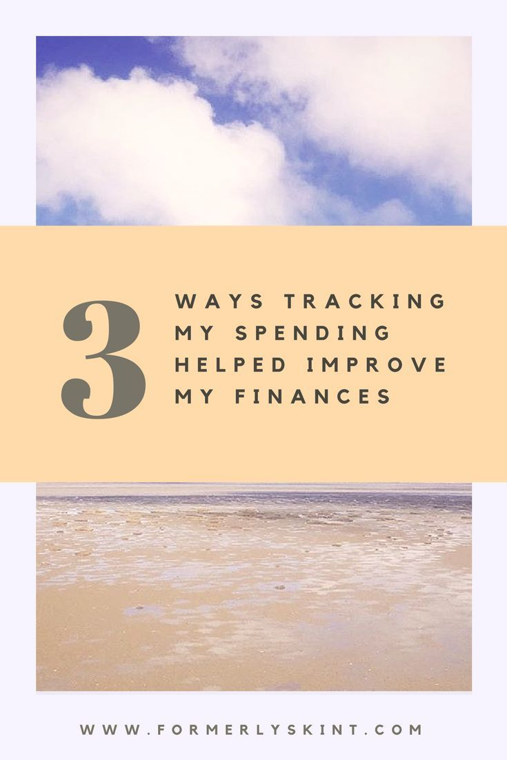 how tracking my spending has improved my finances investing