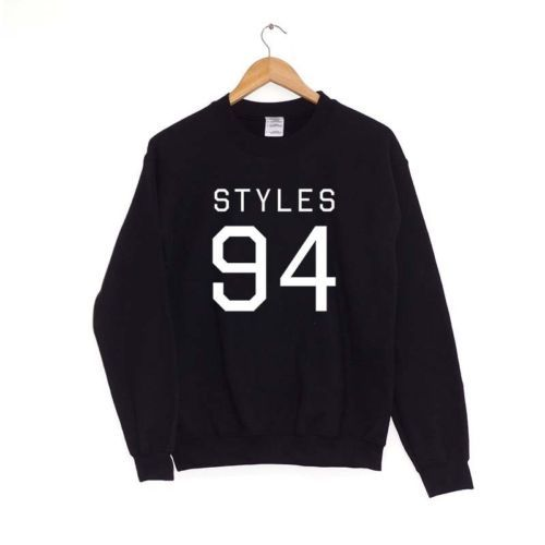 Styles-94-Maglia-Sportiva-Maglione-1d-One-Direction-5-Sos-Vintage-Harry