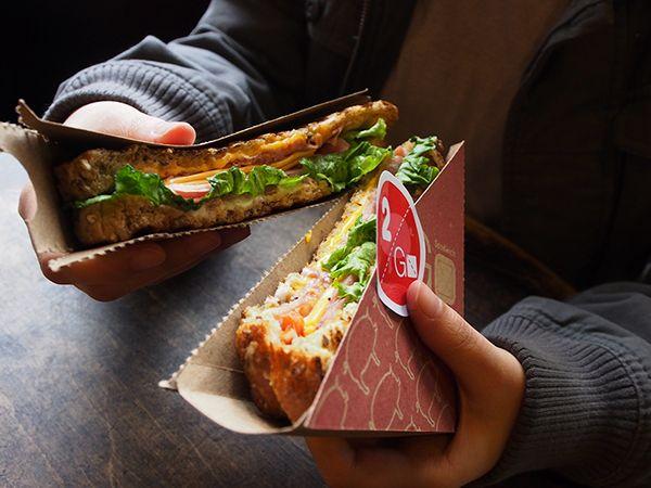 2 Go Sandwich Packaging on Behance