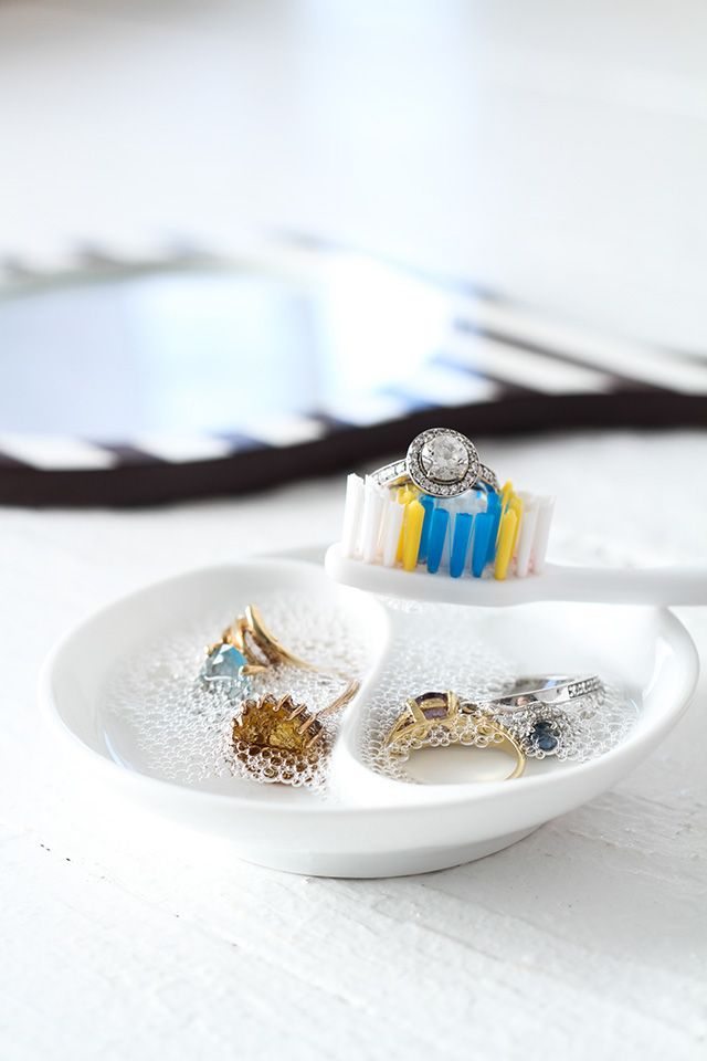 Wondering how to clean jewelry? Get cleaning tips and jewel-polishing potions for all of your priceless pretties.