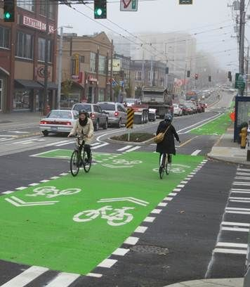 Seattle Department of Transportation: Broadway Cycle Track—Comfortable Protected Bike Lanes