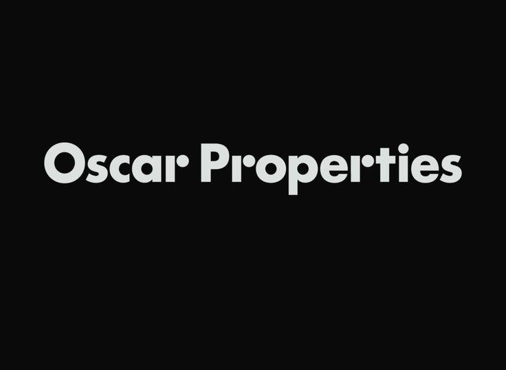 Daniel Carlsten - Oscar Properties -- I enjoy the broken off lower case rs.