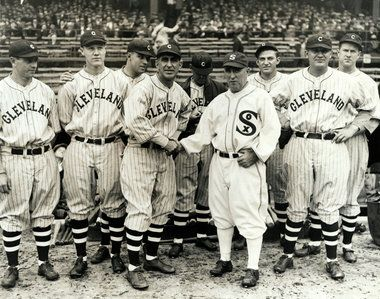 Cleveland Indians home openers from the early years ...