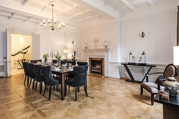 Collingham Gardens Installation - Dining room