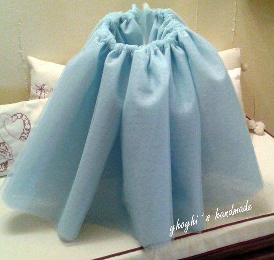 Falda con 6 capas de tul para disfraz de bailarina.