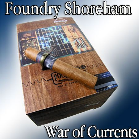 The Foundry War of Currents cigar is led by master blender, Michael Giannini, who is also director of marketing for La Gloria Cubana. The brand, War of Currents, is derived from the war over electrical current standards over one hundred and twenty years ago between Thomas Edison and Nikola Tesla, and their titanic struggle against one another to...