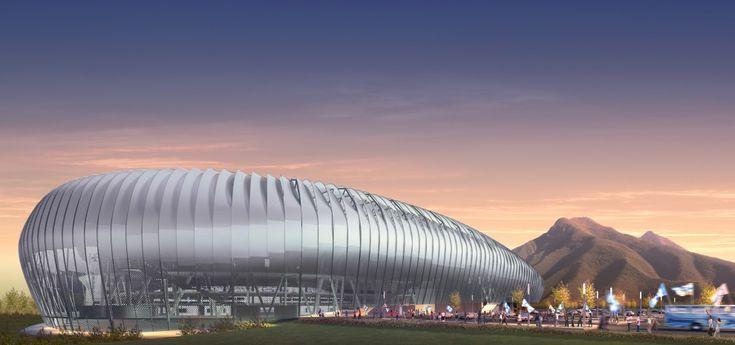 Estadio de Futbol Monterrey - POPULOUS