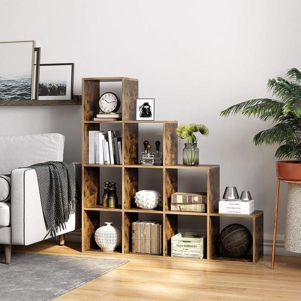Sintale 10 Cube Shelves In 2020 Cube Shelves Shelves Staircase Decor