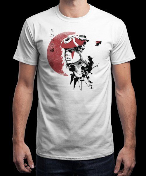 """""""Red Sun Princess"""" is today's £8/€10/$12 tee for 24 hours only on…"""