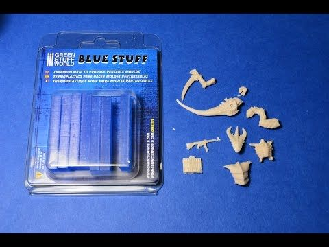 Easy Casting of Small Model Parts and Miniatures with Blue Stuff | Make: