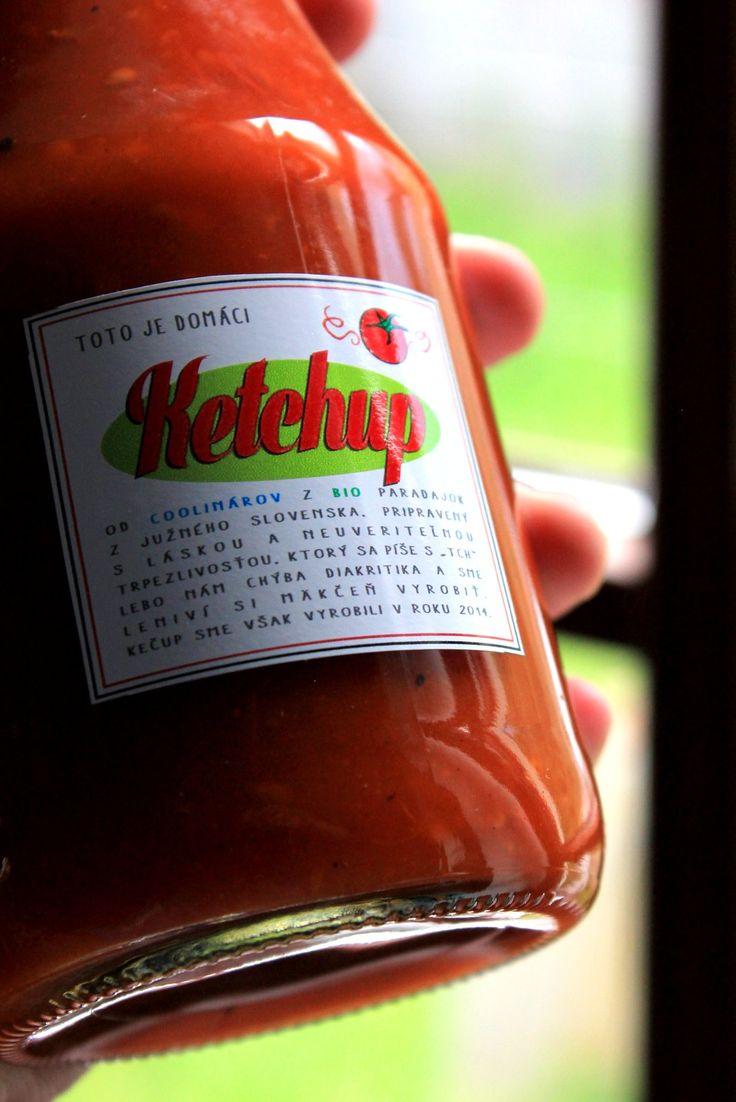domáci kečup - recept