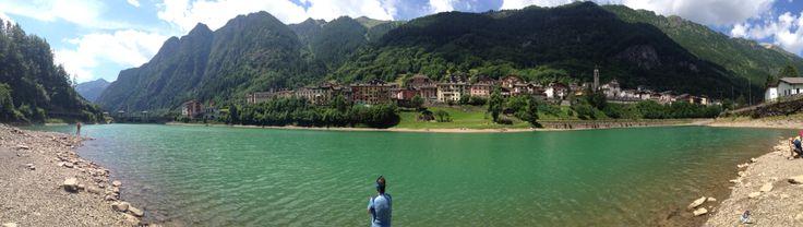Carona ed il suo lago. Valle Brembana. Bergamo