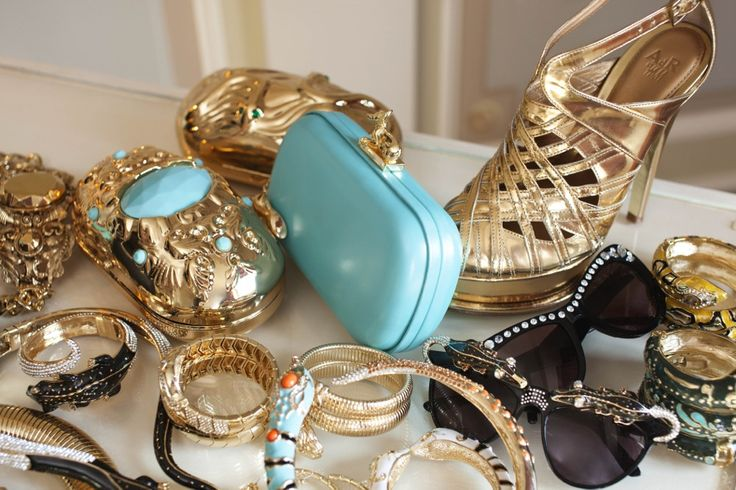Anna Dello Russo Over-the-Top Accessories for HShoes, Cant Wait, Blue, Colors, Clutches, Fashion Accessories, Shower, Anna Dello Russo, Anna The Russian