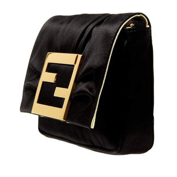 Fendi Gold Clutch