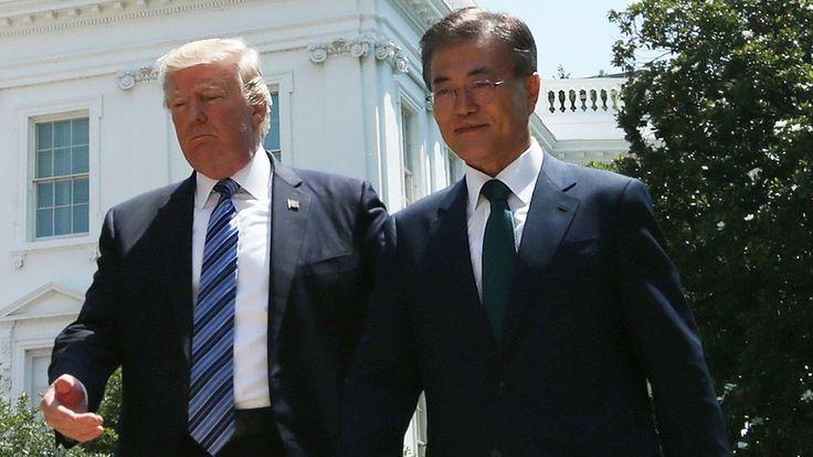 Donald Trump warns North Korea of 'determined response'