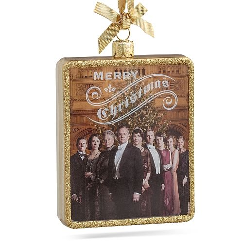 Downton Abbey Cast Christmas Ornament I'd love this, it must be from Season 3-it still has Matthew & Sybil in it!
