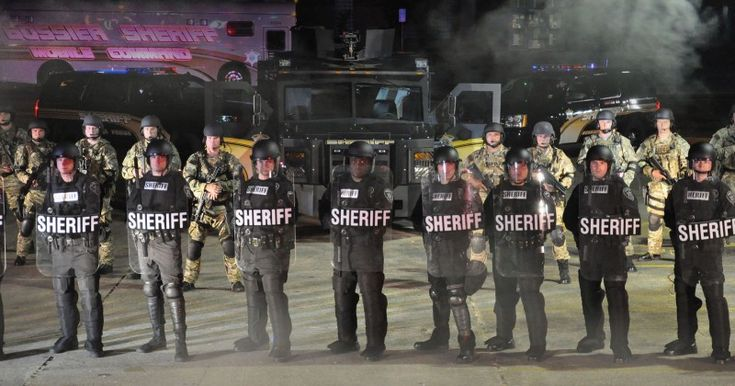 """LOUISIANA COPS TRAINING FOR """"CIVIL DISTURBANCES"""" Riots could be sparked by presidential election, racial tensions"""