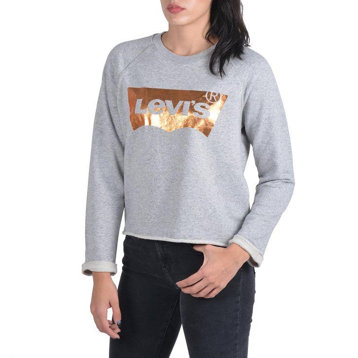 Γυναικεία Ρούχα - Sportswear… Levi's CREW COPPER FOIL… - http://women.bybrand.gr/%ce%b3%cf%85%ce%bd%ce%b1%ce%b9%ce%ba%ce%b5%ce%af%ce%b1-%cf%81%ce%bf%cf%8d%cf%87%ce%b1-sportswear-levis-crew-copper-foil/