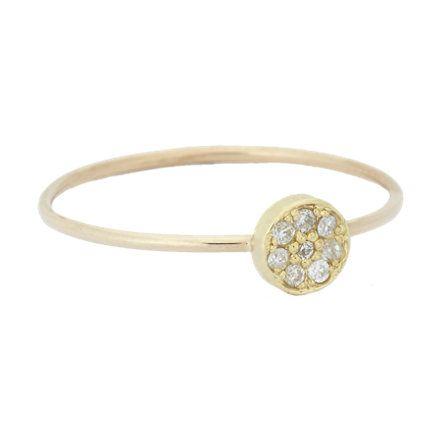 Stack these rings - Jennifer Meyer Diamond & Gold Circle Ring at Barneys.com