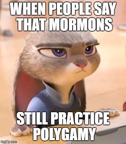 Hilarious Zootopia Mormon Memes