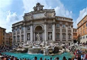 I was in Rome 11 yrs ago and threw a coin in the Trevi Fountain...it is suppose to mean that you will visit again.  Think it's time for a vacation :)