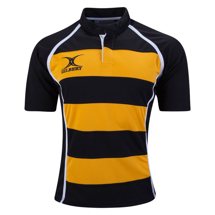 Gilbert Xact Hooped Rugby Jersey | WORLDRUGBYSHOP.COM