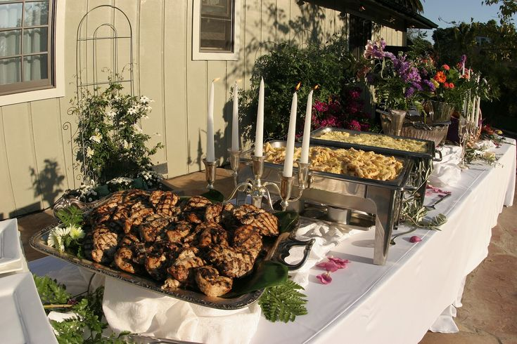 catering for a wedding