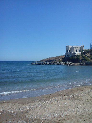 Kythnos island,Loutra.
