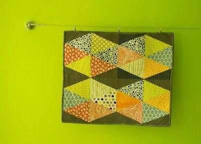 Scrap Box Blocks by Malka Dubrawsky @ a stitch in dye. Love this pattern!!