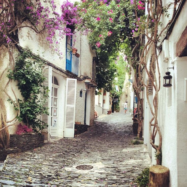 Cadaqués, a beautiful town outside of Barcelona. #barcelona #catalunya