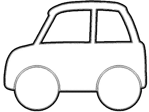 Preschool Car Craft Template