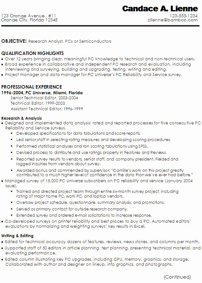 23 Technical Writer Resume Examples In 2020 Technical Writer