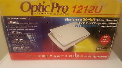 Plustek optic pro 1212u