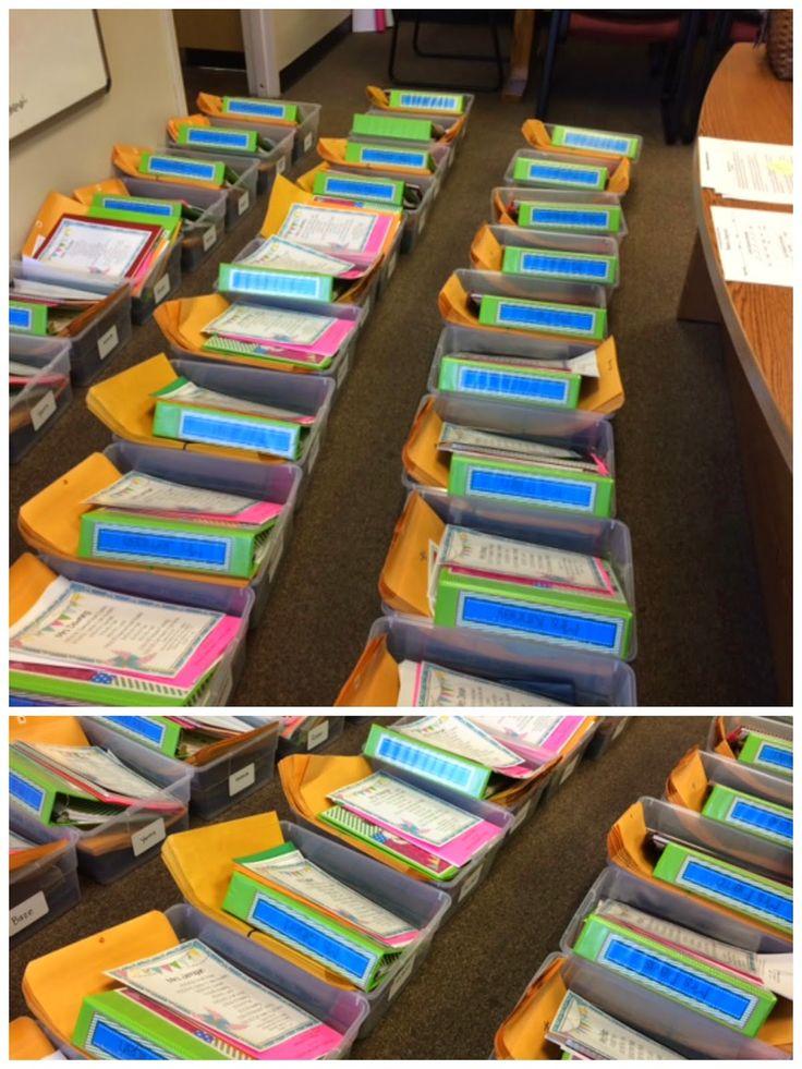 Back to School bins for teachers