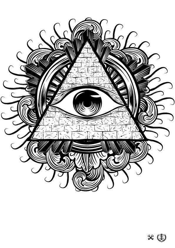 The 25 best Illuminati tattoo ideas on Pinterest  Illuminati eye
