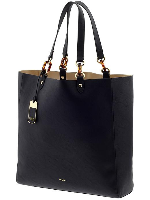 LAUREN by Ralph Lauren- this would be an awesome Mary Kay bag for all my personal things
