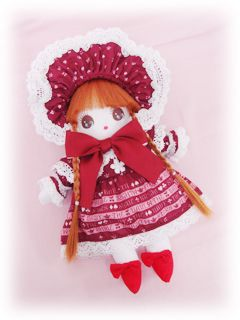 Red Coordinate Doll by Baby the Stars Shine Bright (BTSSB)