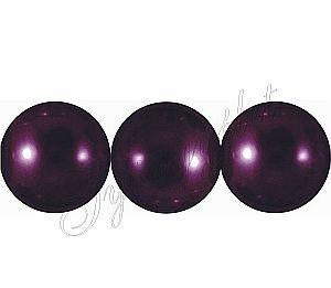 70979 Sötét lila cseh üveg tekla, 3mm