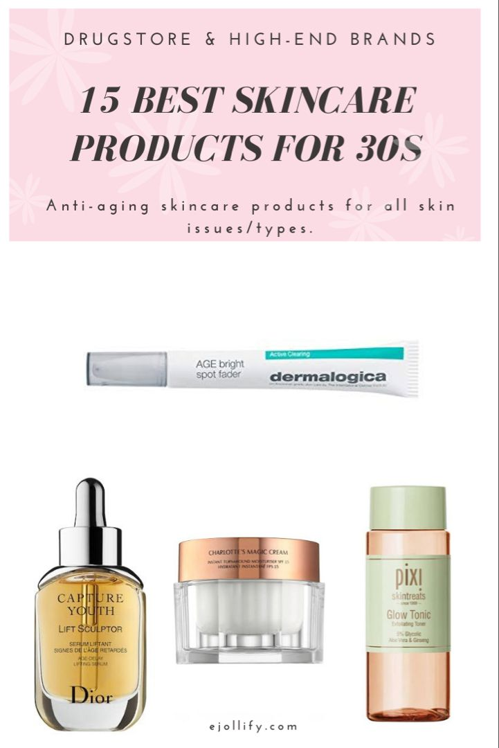 Best Skincare Products For 30s Anti Aging For Aging Skin In 2020 Best Skincare Products Anti Aging Skincare Routine Skin Care